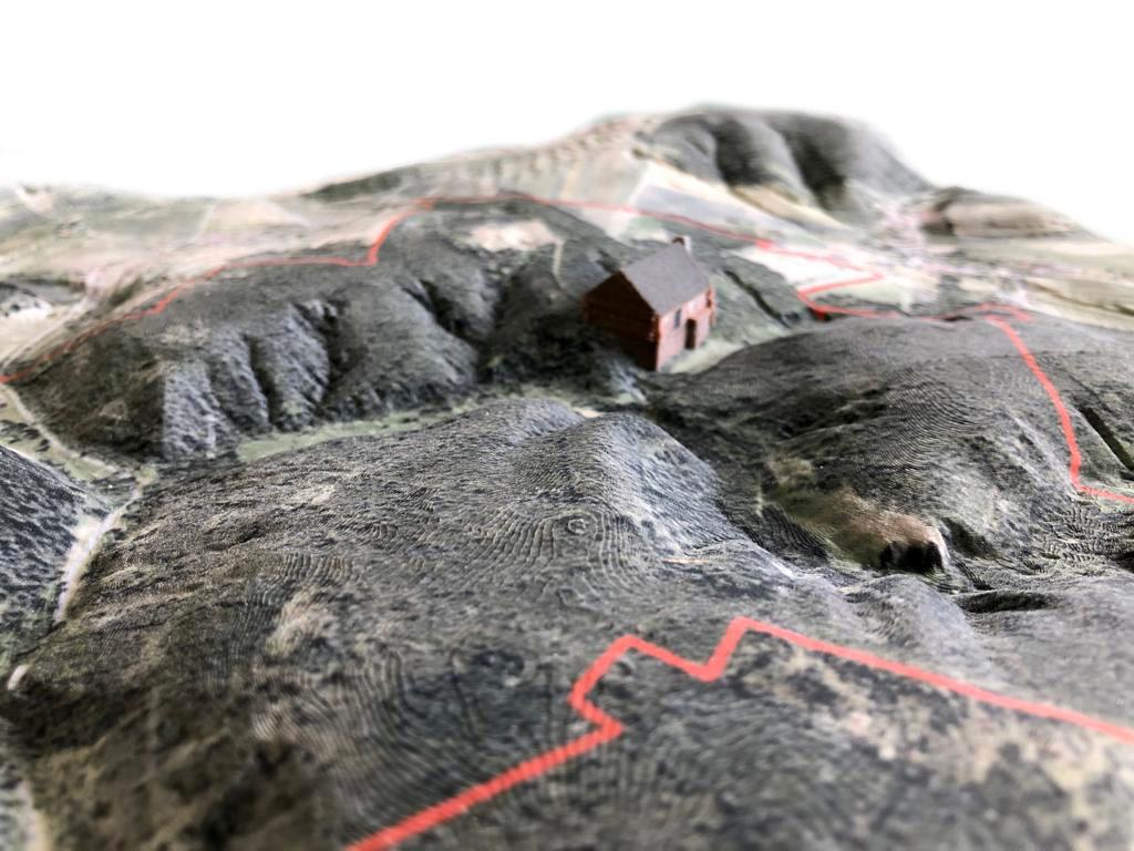 3D Landschaftsmodell Detail 3