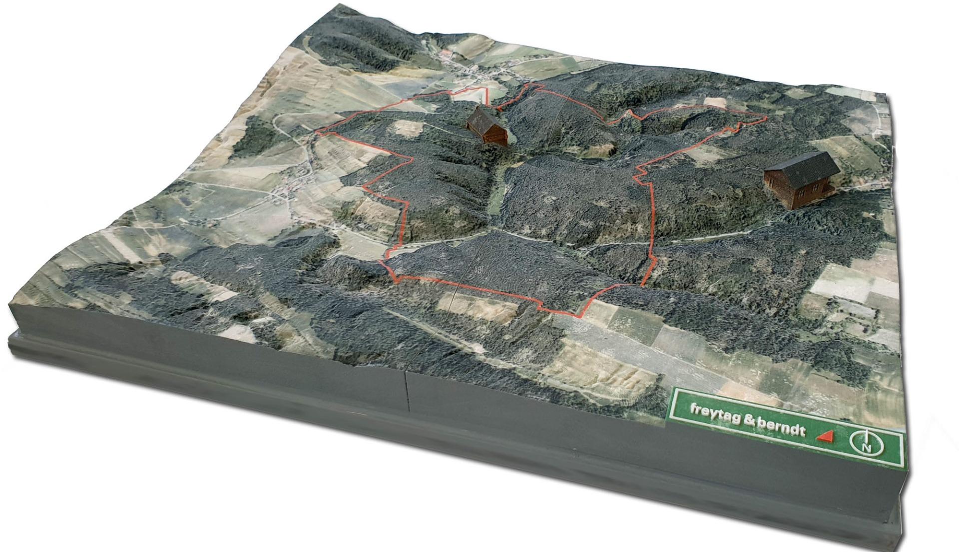 3D-Landschaftsmodell