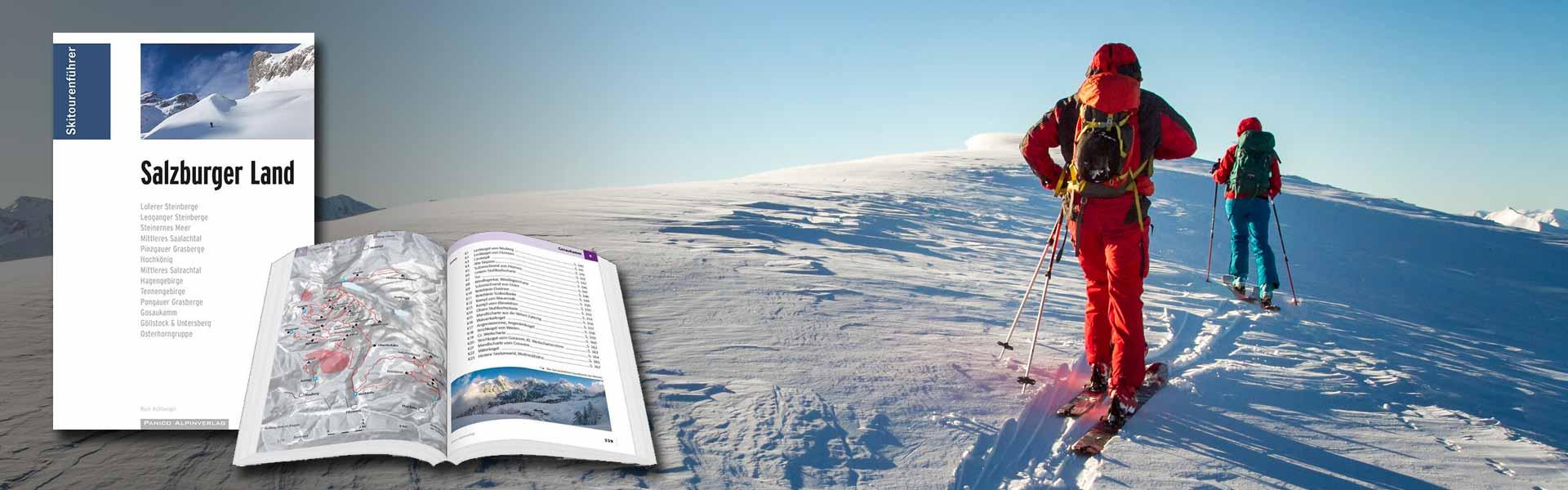 Skitourenführer Salzburger Land_Panico Verlag